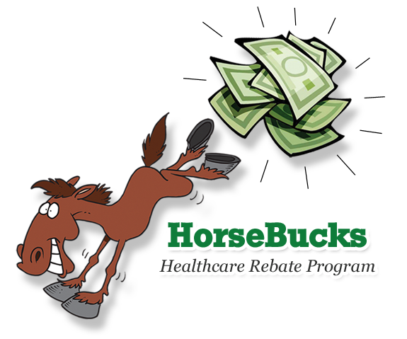 Bucky the HorseBucks Mascot