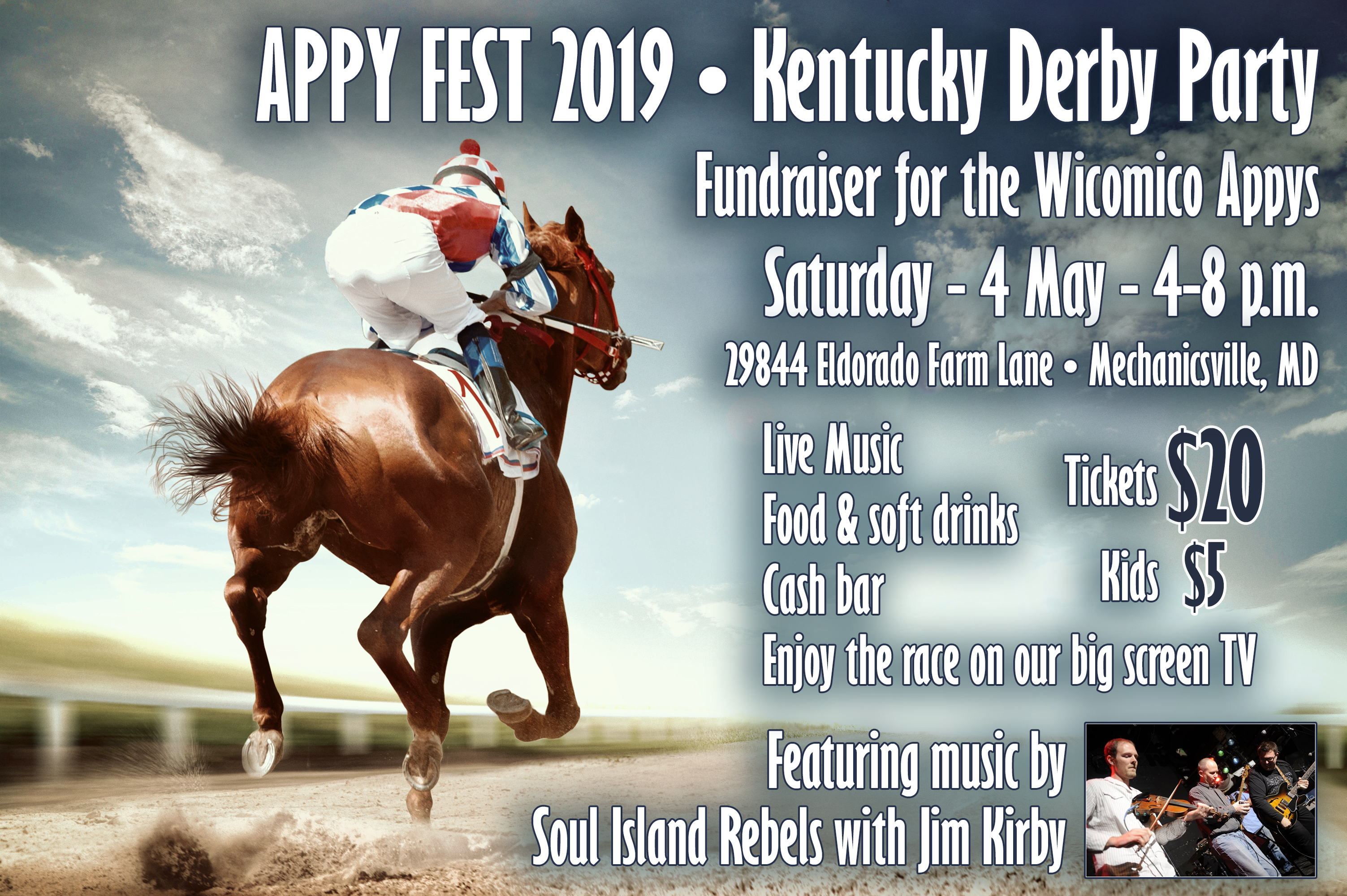 AppyFest Kentucky Derby Party