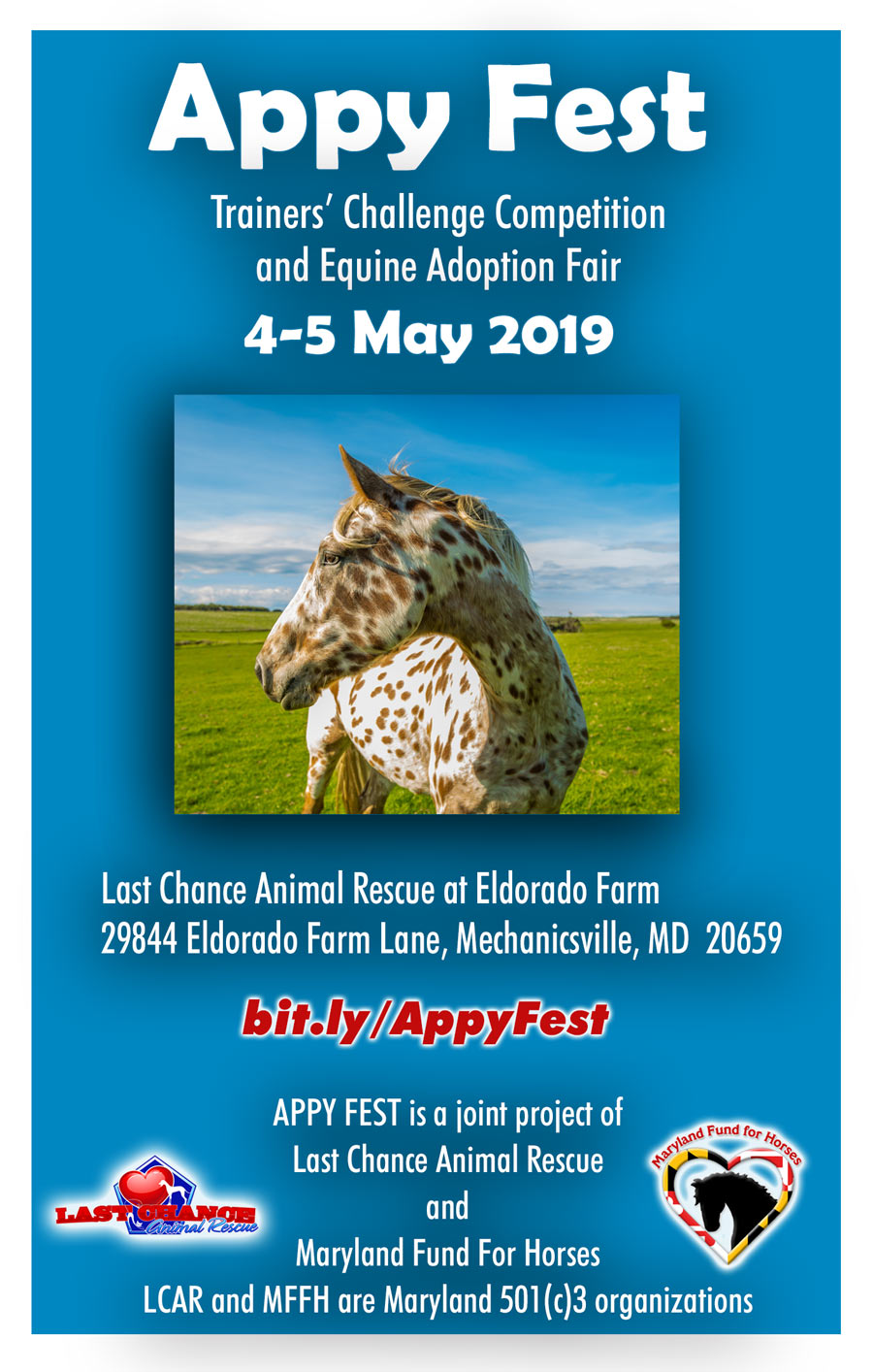 Appy Fest 2019 - Maryland Fund For Horses and Last Chance Animal Rescue